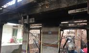 Nhà cháy rụi, 9 xe máy cũng bị cháy trơ khung