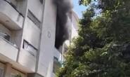 Cháy chung cư Hà Kiều, cư dân nháo nhào tháo chạy