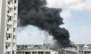 Cháy kho hóa chất,  dân giáp ranh TP HCM- Bình Dương hoảng loạn