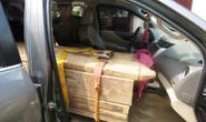 Bắt ôtô gắn biển số giả, chở gỗ lậu