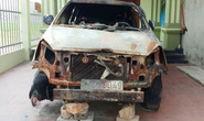 Cựu bí thư Đoàn xã phóng lửa đốt ôtô 7 chỗ Innova của hàng xóm