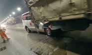 Tai nạn liên hoàn giữa 4 xe ô tô trong hầm Hải Vân