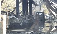 10 ô tô bị thiêu rụi trong ngày giỗ tổ Hùng Vương