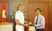 Tàu sân bay của Mỹ muốn đến thăm Khánh Hòa