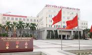 Thủ khoa Học viện Cảnh sát nhân dân là thí sinh Hòa Bình được nâng 16,5 điểm