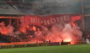 Phạt Hà Nội FC đá sân không khán giả vì để CĐV Hải Phòng đốt pháo sáng