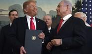 Israel tính đặt tên ông Trump cho vùng đất ở Cao nguyên Golan