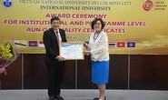 Trường ĐH Quốc tế đạt chuẩn đánh giá chất lượng AUN cấp cơ sở