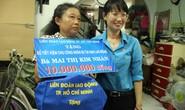 LĐLĐ TP HCM: Họp mặt, tặng quà cho công nhân bị tai nạn lao động