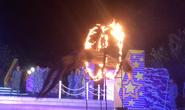 Video: Cận cảnh đặc công nước bay qua vòng lửa, hạ gục đối thủ ở Trường Sa