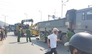 Đà Nẵng: Va chạm với xe ben, một phụ nữ đi trên xe tay ga chết thảm