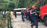 Xe khách tông vách núi, 14 sinh viên nước ngoài bị thương