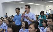 Lãnh đạo TP Hà Nội đối thoại với công nhân