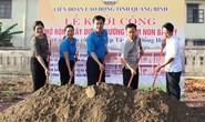 Quảng Bình: Xây trường mầm non cho con công nhân