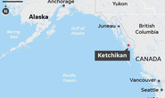 Mỹ: Hai máy bay rơi sau vụ va chạm trên không