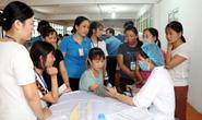 Nam Định: Khám sức khỏe miễn phí cho công nhân