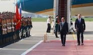 Lễ đón chính thức Thủ tướng Nguyễn Xuân Phúc tại thủ đô Moscow
