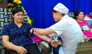 Gần 500 người hiến máu tình nguyện