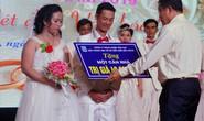 Sóc Trăng: Tưng bừng lễ cưới tập thể cho công nhân khó khăn