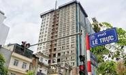 Tòa nhà 8B Lê Trực được nêu tên trong báo cáo giám sát đất đai của Quốc hội