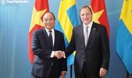 Thủ tướng Nguyễn Xuân Phúc hội đàm với Thủ tướng Stefan Loefven