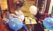 Cấm sử dụng bóng cười tại các điểm giải trí ở Hà Nội