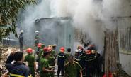 Cháy dữ dội bên trong xưởng hương, nhiều tài sản bị thiêu rụi