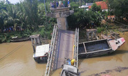 Cầu BOT sập khi vừa hết thu phí 3 tháng: Do phương tiện quá tải?