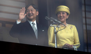 Tân Nhật hoàng lần đầu ra mắt người dân tại Cung điện Hoàng gia