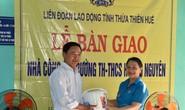 Thừa Thiên - Huế: Trao nhà công vụ cho giáo viên