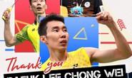 Huyền thoại sống cầu lông Malaysia Lee Chong Wei tuyên bố giải nghệ
