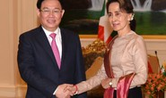 Phó Thủ tướng Vương Đình Huệ gặp bà San Suu Kyi bàn về hợp tác kinh tế