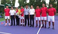 Quần vợt Việt Nam được tiếp thêm động lực trước Davis Cup 2019