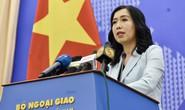 Người phát ngôn trả lời về thông tin hàng Trung Quốc đội lốt hàng Việt Nam xuất sang Mỹ