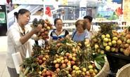 Vải thiều Bắc Giang bán ở siêu thị rẻ hơn  tại thủ phủ Lục Ngạn?