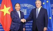 Thủ tướng từ Nhật Bản về nước dự lễ ký EVFTA