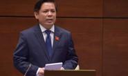 Bộ trưởng GTVT Nguyễn Văn Thể trả lời chất vấn của Quốc hội