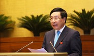 Phó Thủ tướng Phạm Bình Minh lần đầu ngồi ghế nóng trả lời chất vấn
