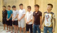 Nhóm côn đồ bảo kê thu 20.000 đồng/xe taxi chở khách tham quan khu FLC ở Sầm Sơn