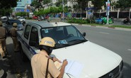 CSGT TP HCM bắt chết 708 xe trong ngày đầu ra quân tổng kiểm soát