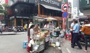 Vỉa hè, lòng đường khu trung tâm TP HCM trưa 17-7: Đủ kiểu lấn chiếm!
