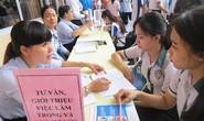 Phiên giao dịch việc làm lao động từ Hàn, Nhật trở về
