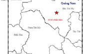 Động đất kèm tiếng nổ lớn rung chuyển Bắc Trà My