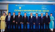 Thủ tướng dự lễ kỷ niệm 25 năm đường bay Việt Nam - Nhật Bản