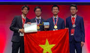 Việt Nam giành 2 huy chương vàng, 2 huy chương bạc Olympic Hoá học quốc tế
