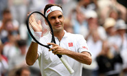 Vào vòng 4 Wimbledon 2019: Hai kỷ lục mới của Federer