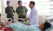 Công an viên bị nam thanh niên dùng dao đâm nhập viện