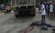 Ngã xuống đường sau va chạm, nam thanh niên bị xe tải cán qua người tử vong