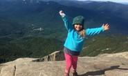 Bé gái 4 tuổi chinh phục kỷ lục leo núi