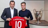 Đón tân binh Coutinho, Bayern mơ chinh phục Champions League